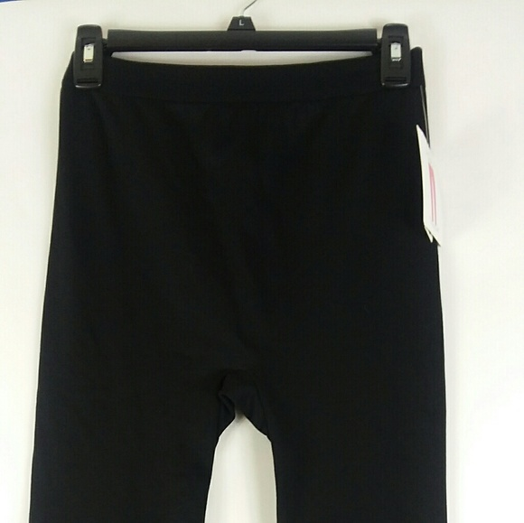 0082c8c4215283 Bobbie Brooks Pants | Black Fleece Lined Leggings | Poshmark